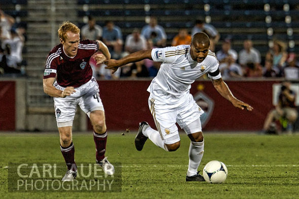July 24th, 2012: Colorado Rapids host Swansea City AFC for a international friendly soccer match in Denver, CO.