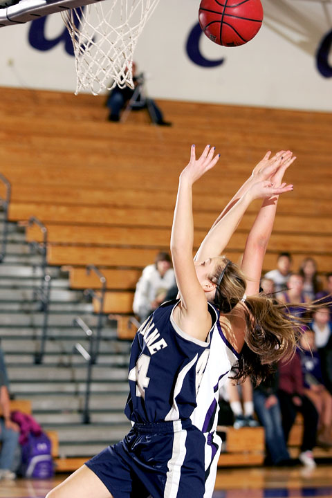 January 15th, 2013:  A Columbine player takes a shot in the game against the Arvada West Wildcats Tuesday night at Arvada West High School.