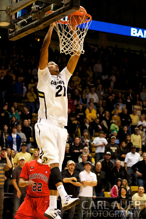 2012 NCAA Basketball - University of Hartford Hawks vs Colorado Buffaloes DEC 29