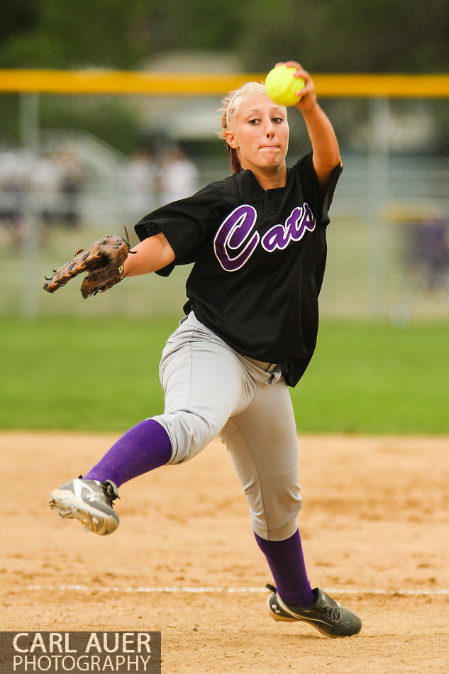 August 22nd, 2012: High School Softball Arvada West vs Boulder High School