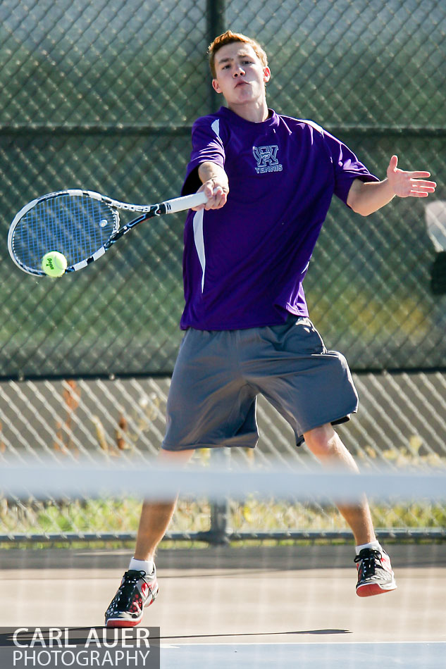 10 Shot - HS Tennis - Arvada West at Ralston Valley