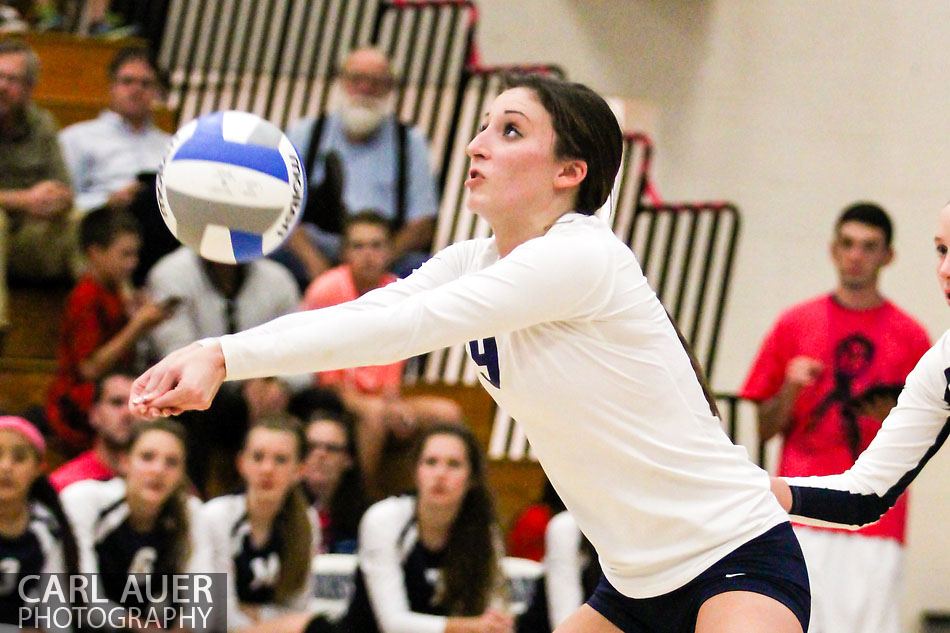 10 Shot - HS Volleyball - Arvada West at Ralston Valley