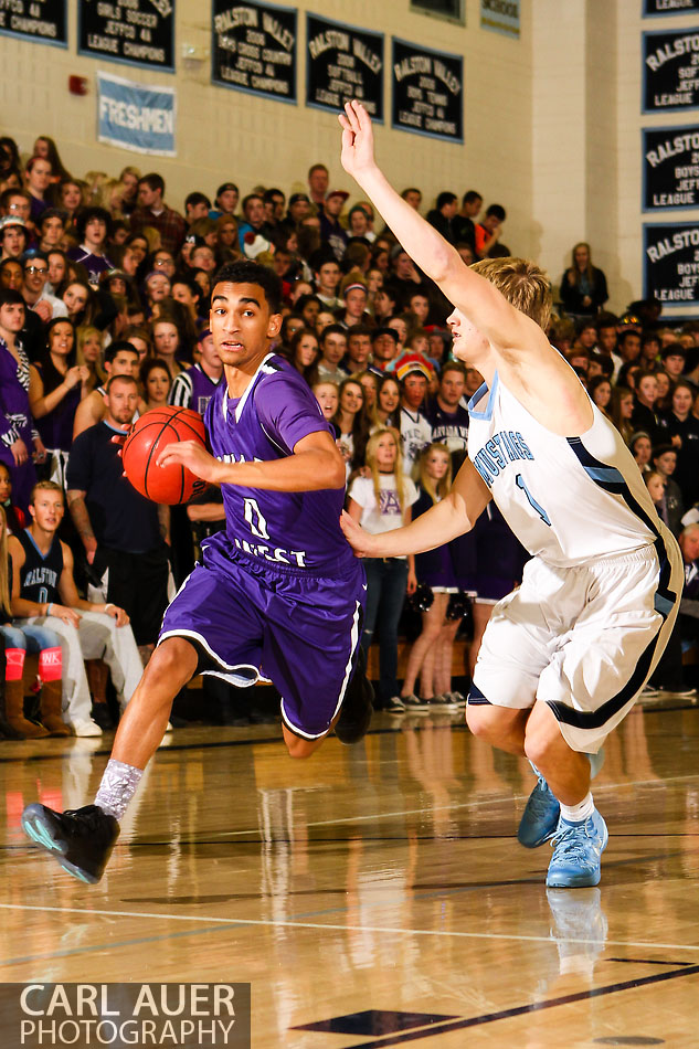 10 Shot - HS Basketball - Arvada West at RV