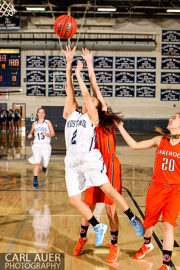 10 Shot - HS Girls Basketball - Lakewood at RV