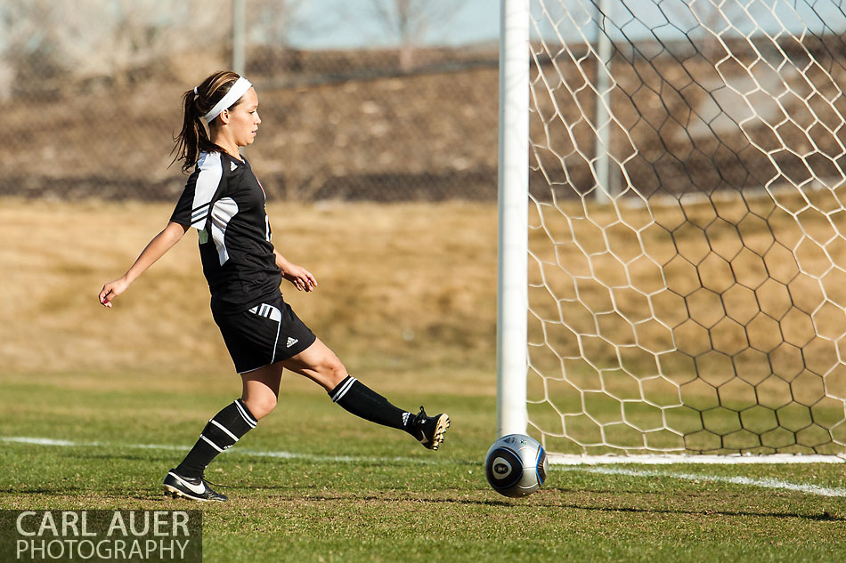 10 Shot - HS Girls Soccer - Eaglecrest at Pomona