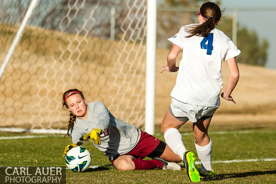 10 Shot - HS Girls Soccer - Chatfield at RV