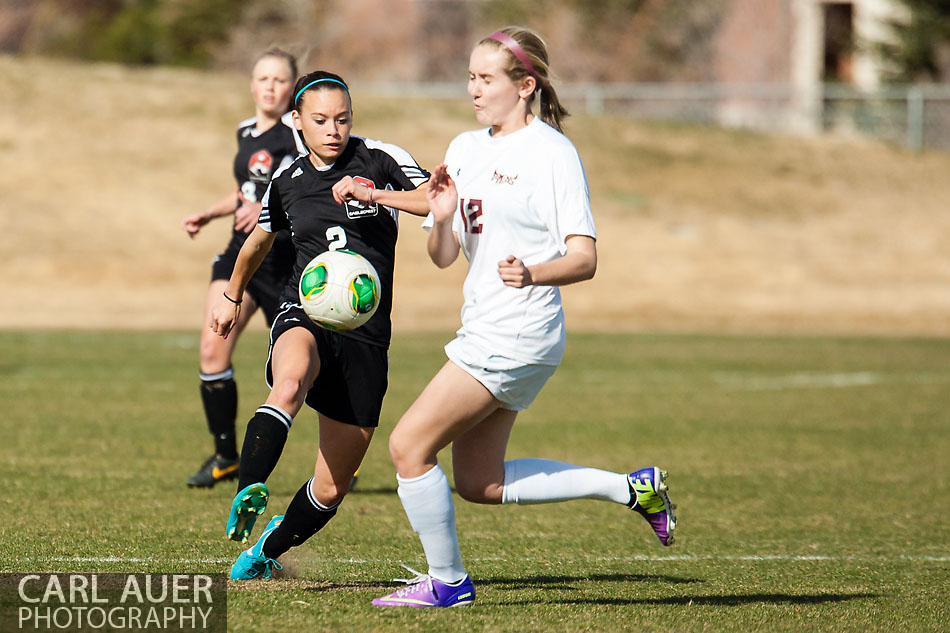 10 Shot - HS Girls Soccer - Eaglecrest at Golden