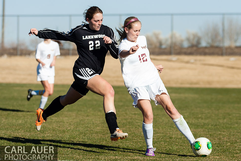 10 Shot - HS Girls Soccer - Lakewood at Golden