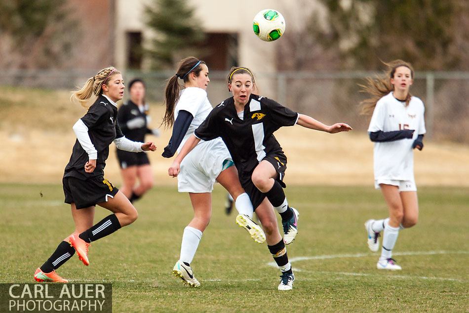 10 Shot - HS Girls Soccer - Thompson Valley at Golden