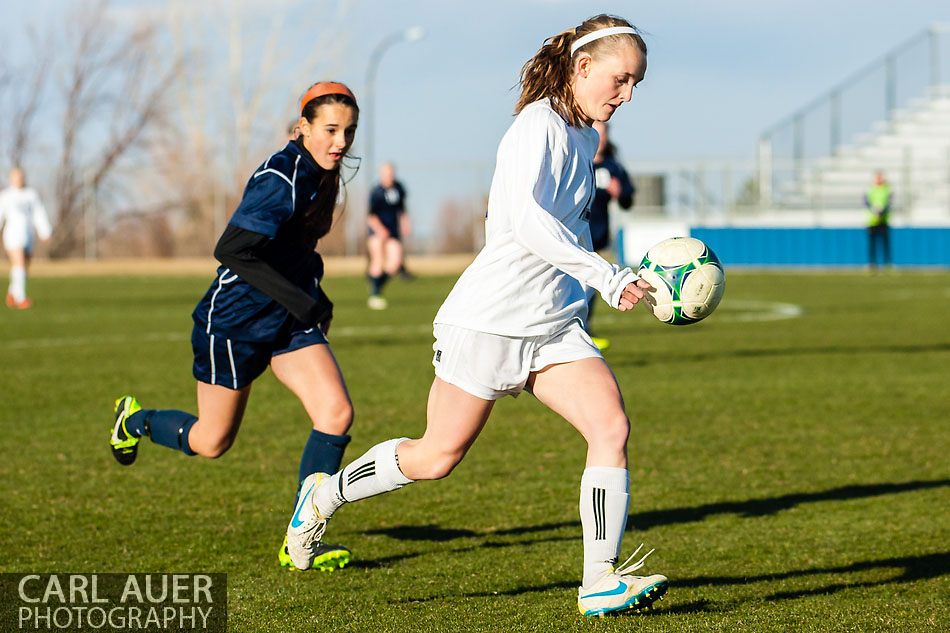 Arvada West Girls Soccer vs Ralston Valley - 10 Shot