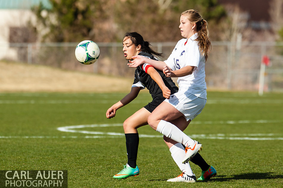 Arvada West Girls Soccer vs Montbello - 10 Shot