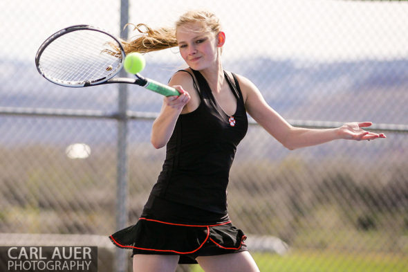 Ralston Valley Girls Tennis vs Lakewood - 10 Shot